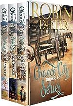 Chance City Series Books 1-3 Boxed Set: Sensual Western Historical Romance