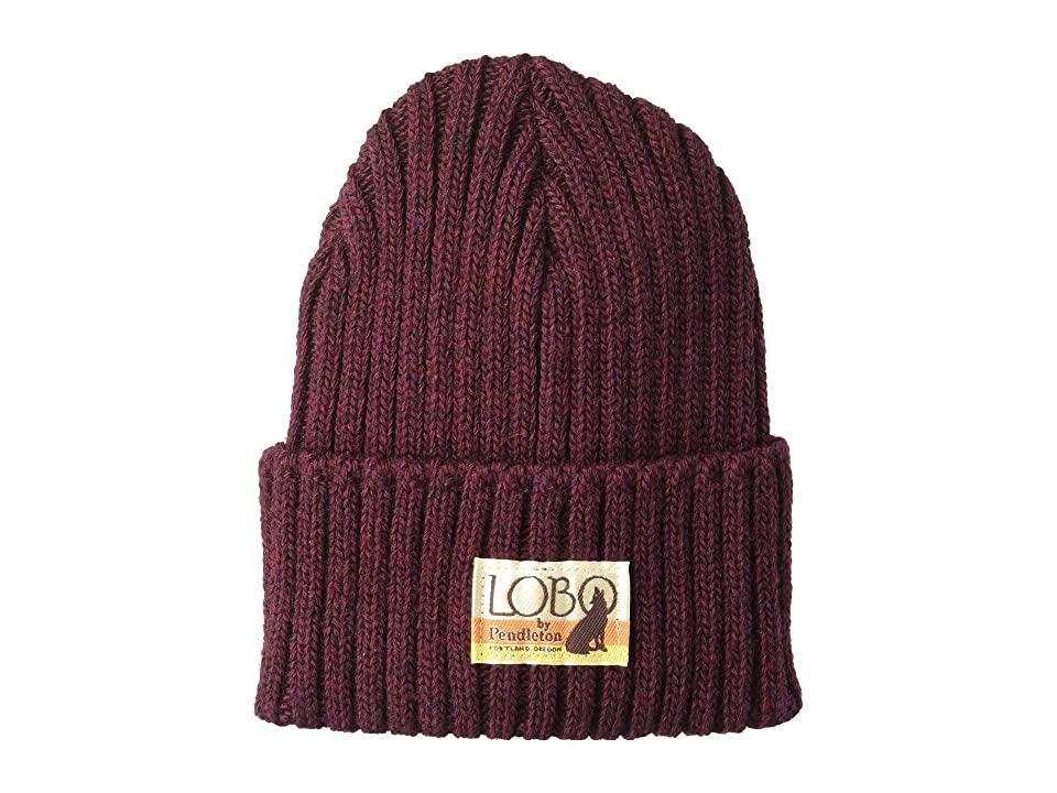 Pendleton - Pendleton All Season Beanie , Burgundy