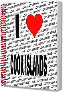 I Love Cooköarna – A5 anteckningsbok – anteckningsblock – födelsedag – jul – gåva