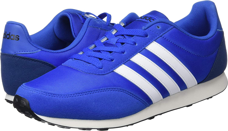 adidas V Racer 2.0, Sneakers Basses Homme, Bleu (Blue Bc0107), 42 ...