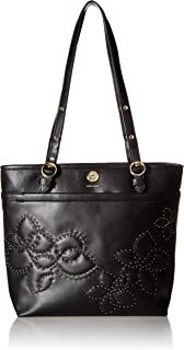 Vern Quilted Micro Stud Pocket Tote