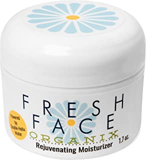 Organic Facial Moisturizer. Revives Aging Skin Quickly. Repairs Dry Skin, Wrinkles, Dark Spots, Irritations And Sunburn. For All Ages And Skin Types.