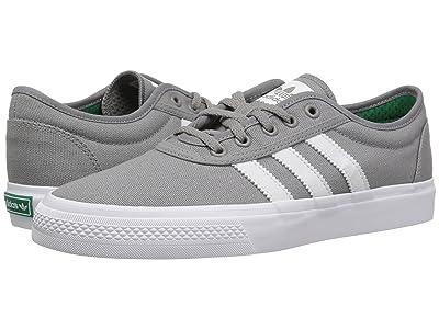 adidas Skateboarding Adi-Ease (Charcoal Solid Grey/Crystal White/White) Skate Shoes