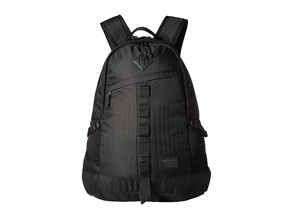 Burton Cadet Pack (True Black Heather Twill) Backpack Bags