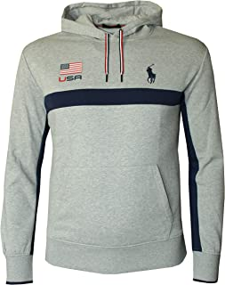 Men's Fancy Fleece Pullover Athletic USA Hoodie