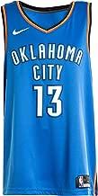 NIKE Men's Paul George Oklahoma City Thunder NBA Icon Edition Swingman Jersey Size S 40