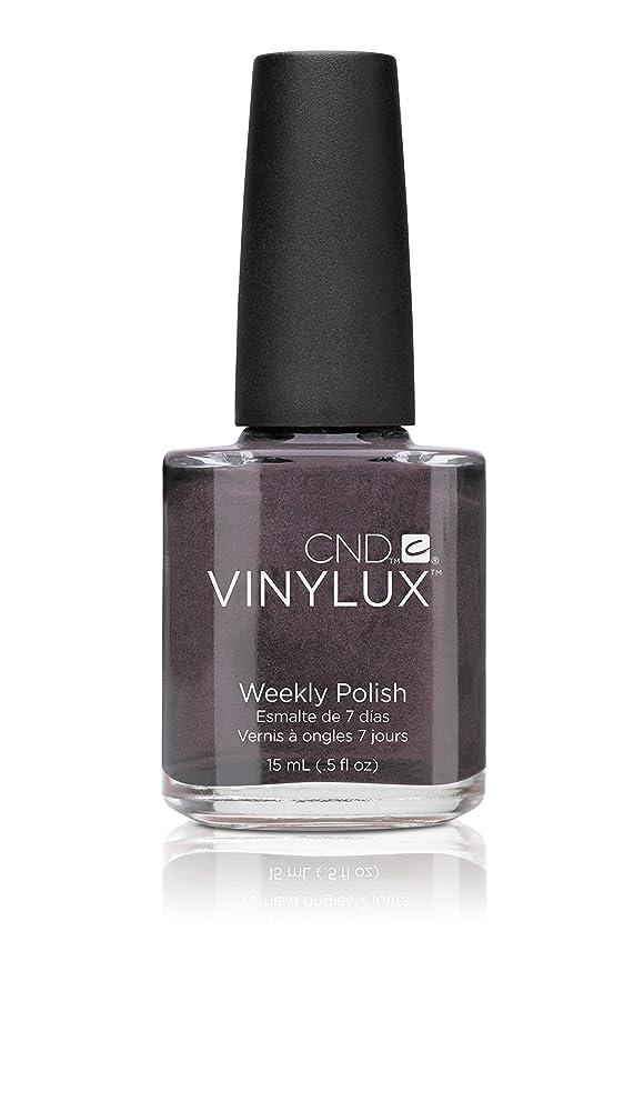 副詞吸収する質素なCND Vinylux Weekly Polish Colore 156 Vexed Violette 15ml