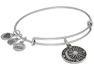 Alex and Ani Cosmic Balance II Bangle (Rafaelian Silver) Bracelet