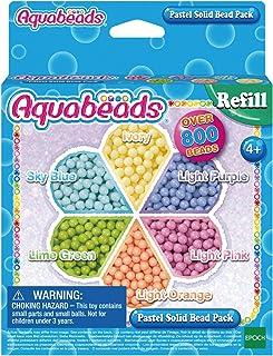 Aquabeads - La Recharge Perles Pastel - 31360 - Recharge Perles Assorties - Loisirs Créatifs