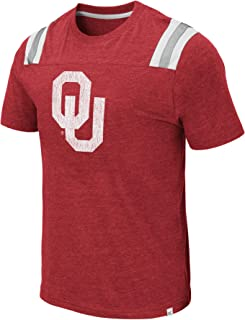Colosseum Men's NCAA Men's Relaxed Fit Vintage Football T-Shirt-Dual Blend