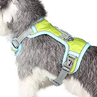 Petderland Dog Harness No-Pull Pet Harness Adjustable Outdoor Pet Reflective Oxford Material Vest for Dogs Easy Control for Small Medium Large Dogs