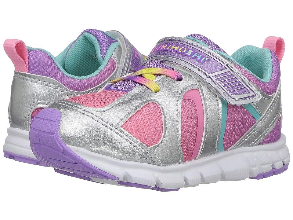Tsukihoshi Kids Rainbow (Toddler/Little Kid) (Silver/Lavender) Girls Shoes