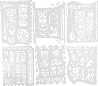 Artool Freehand Airbrush Templates, Tiki Master Mini Series 2