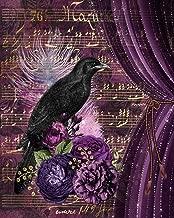 2020 Planner: Weekly & Monthly Calendar Organizer   January 2020 through December 2020   Gothic Goth #4 Purple Ephemera Bird