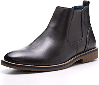 Mens Owen Chelsea Boots Pull Up Ankle Boots