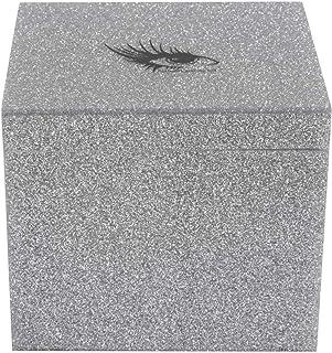 Duurzame opbergdoos voor wimperverlenging Opbergdoos voor wimpers voor thuisgebruik voor valse wimpers(Silver storage box)