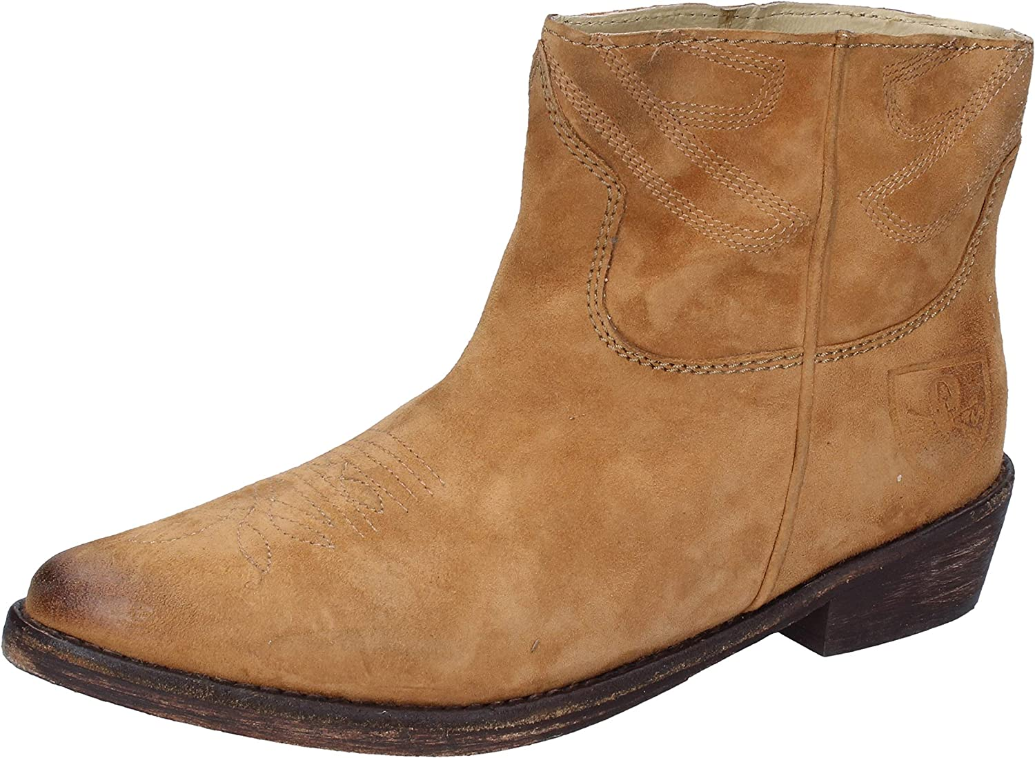 MR. WOLF Boots Womens Suede Brown
