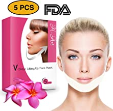 Chin Up Patch | Face Lift | V line | Double Chin Reducer | Contour Lifting Firming Moisturizing Mask - 5 Strips