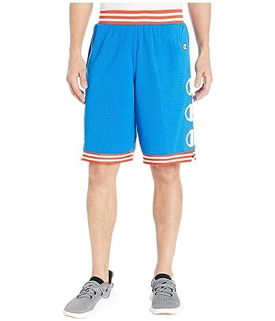 Champion LIFE Rec Mesh Shorts (Optical Blue) Men