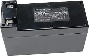 vhbw batería Compatible con Ambrogio L50 Deluxe, L50 Evolution, L50 Us, L60 Basic 2.0, L60 Blacktech 2.0 Robot cortacésped (10200mAh, 25.2V, Li-Ion)