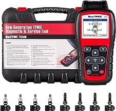 Autel MaxiTPMS TS508K TPMS Diagnostic Service Tool, Interchangeable valves with With 4 Pcs 315MHz MX-Sensor & 4 Pcs 433MHz MX-Sensor