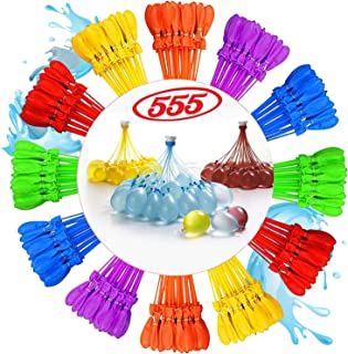 Shoppy Self Sealing 555 - Pack Bunch Water Balloons Easy Quick Fill Balloons in 60 Seconds Outdoor Fun and Rapid Filling B...