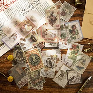RosewineC Lot de 240 autocollants vintage - Pour scrapbooking - Décoration pour scrapbooking - Calendrier - Carnet - Journ...