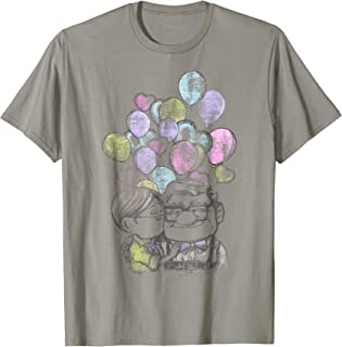 Pixar Up Carl And Ellie Love Graphic T-Shirt