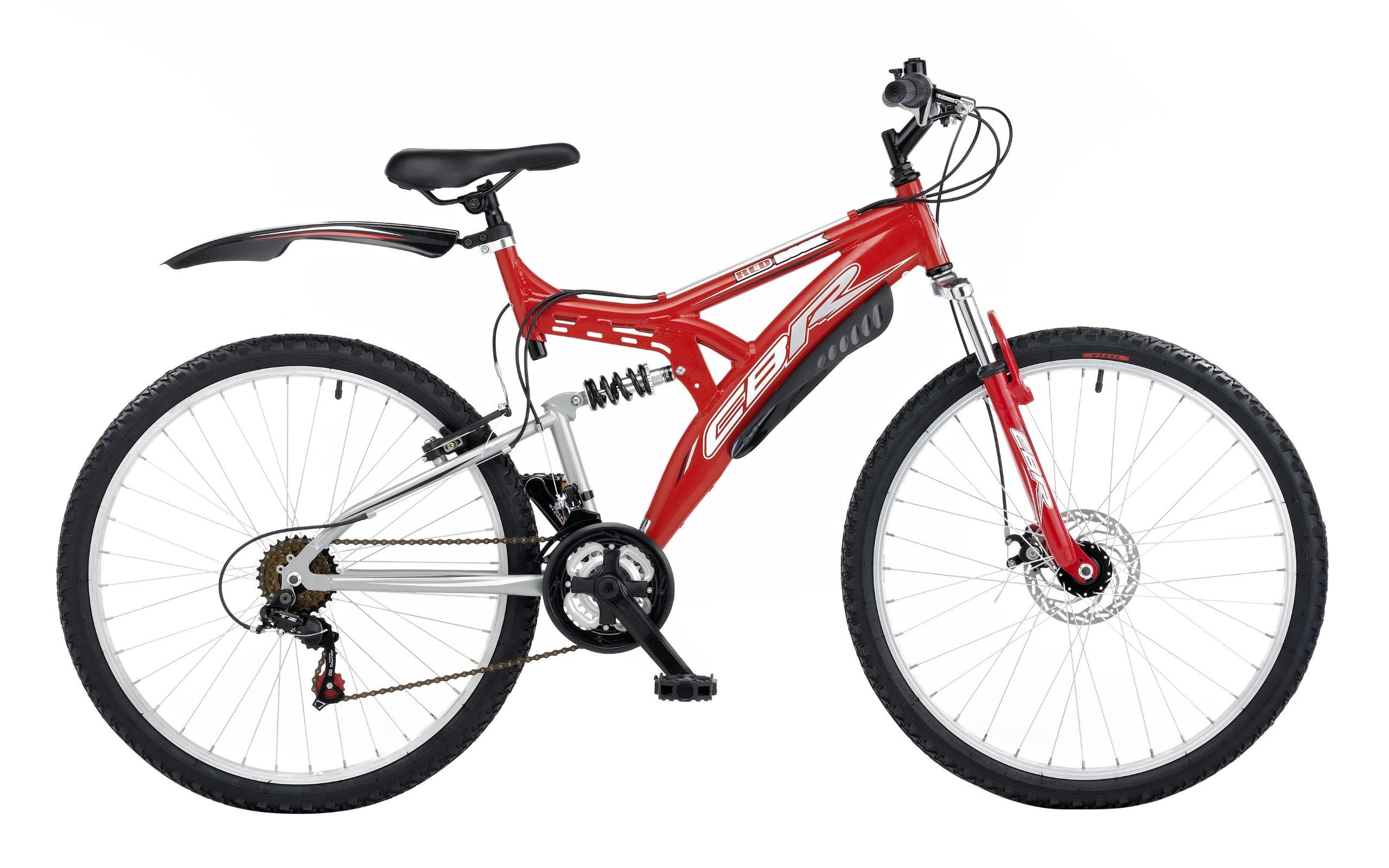 CBR 9679180 - Bicicleta de montaña para Hombre, Talla M (165-172 cm), Color Rojo: Amazon.es: Deportes y aire libre
