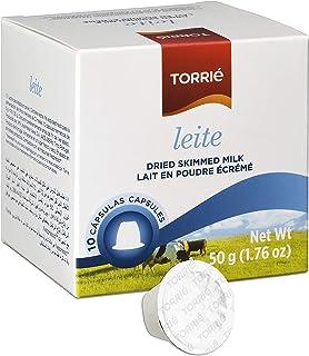 Torrié Leche en Polvo - 10 capsulas compatible Nespresso (4 Paquetes: 40 capsulas)