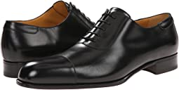 a. testoni Lux Calf Oxford with Cap Toe