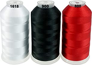 New brothreads -32 Options- Various Assorted Color Packs of Polyester Embroidery Machine Thread Huge Spool 5000M for All E...