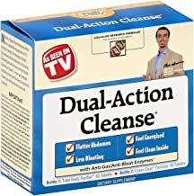 Dual Action Cleanse With Anti Gas Bloating Enzymes