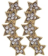 Rebecca Minkoff - Starry Night Climber Stud Earrings
