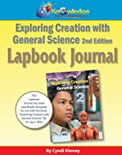 Apologia  Exploring Creation With General Science 2nd Ed Lapbook Journal  - PRINTED