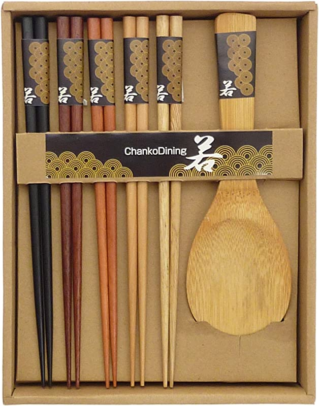 JapanBargain 2660 Chopsticks Rice Paddle Natural