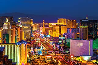 Poster Service Las Vegas Strip Poster, 24-Inch by 36-Inch