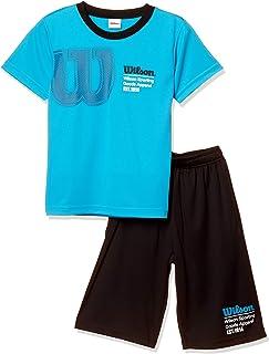 [ウイルソン] 子供服 半袖Tシャツスーツ 吸汗 速乾 WX5885