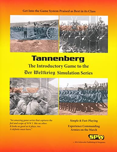Sin impuestos SPW  Tannenberg, the Introductory Game to the the the Der Weltkriege Simulation Game Series, 2nd Edition by SPW Der Weltkrieg  grandes ahorros