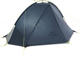 Naturehike公式ショップ テント 超軽量 1人用 2人用 アウトドア キャンプ ツーリング 20D防水ナイロン生地 PU4000 防風、防雨、防災(専用グランドシート付)