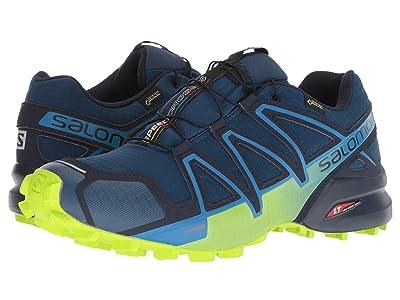 Salomon Speedcross 4 GTX (Poseidon/Navy Blazer/Lime Green) Men