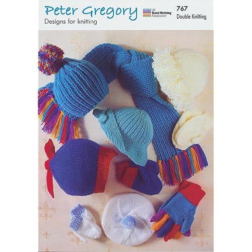 Childrens Hats And Scarf Knitting Pattern Amazon Co Uk