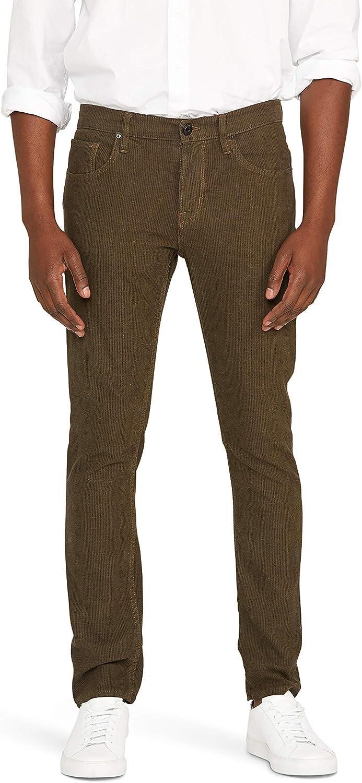 ついに入荷 HUDSON Men's Blake 公式 Slim Leg Pant Straight Twill