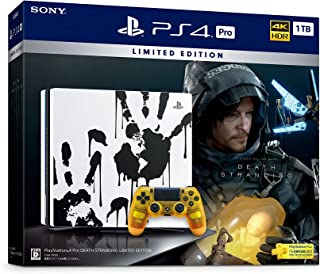 PlayStation 4 Pro DEATH STRANDING LIMITED EDITION【Amazon.co.jp限定】オリジナルPS4テーマ(配信)
