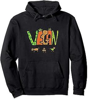 Fresh Stencil Logo Sweatshirt Crewneck Hip-Hop Rap Vegan Vegetarian  Men S-3XL