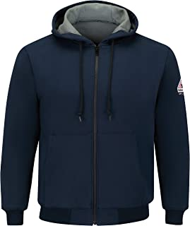 Men's Thermal Lined Zip-Front Hooded Sweatshirt