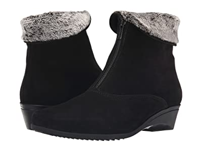 La Canadienne Evitta (Black Suede) Women