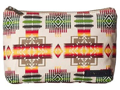 Pendleton Canopy Canvas Zip Pouch (Chief Joseph) Tote Handbags