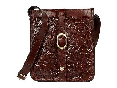 Patricia Nash Venezia Crossbody (British Tan) Cross Body Handbags