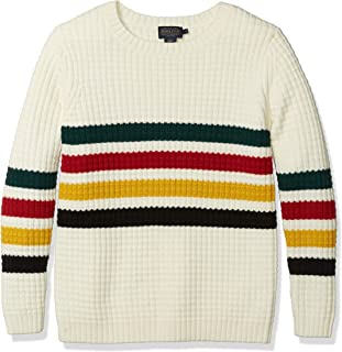 Pendleton Women's Glacier Stripe Merino Sweater